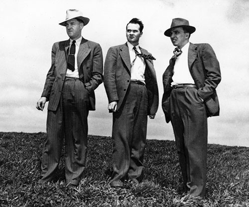 Gene Meyer, James Baird, W.D. Knox