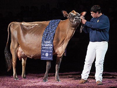 2013 Supreme Champion of the Junior Show at World Dairy Expo