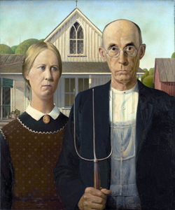 American Gothic image