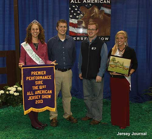 Premier Performance Sire at NAILE 2013
