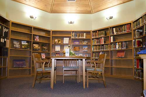 remodeled Joe P. Eves Library at National Dairy Shrine museum
