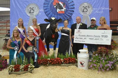 2011 Wisconsin Holstein Futurity Winner