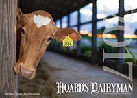 2017 Hoard's Dairyman calendar